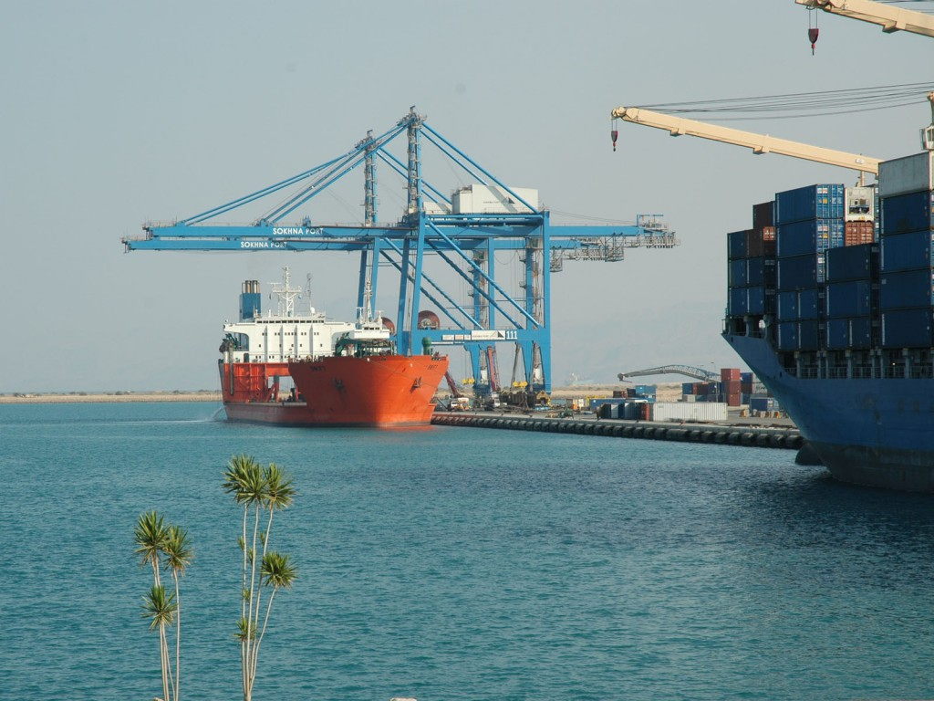 Development of Sokhna Port - Egypt