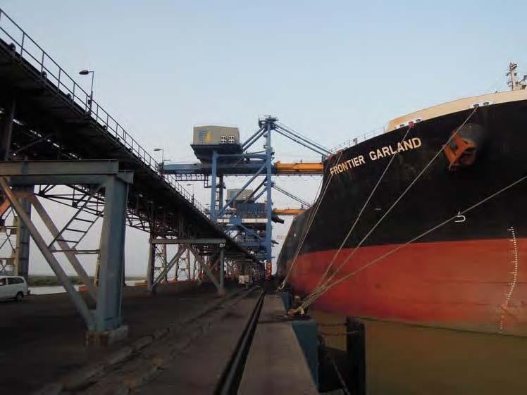 Dhamra Port coal terminal