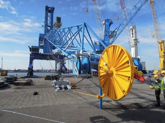 Mobile harbour crane for Mombasa - Kenya