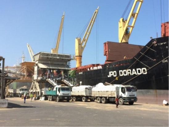 Terminal scan of dry bulk terminal Djibouti