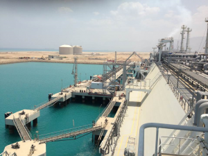 Jetty for FSRU and LNG operations - Sokhna Port, Egypt