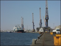 Port of Walvisbay - Namibia